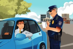 Strafzettel im Ausland
